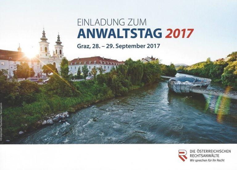 Anwaltstag 2017 Graz